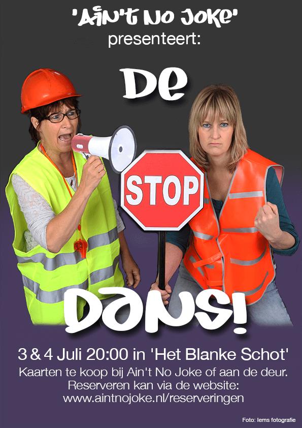 Poster 'De STOP Dans!'